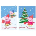 Peppa Pig XMAS CARDS (20) ~ HAVE ARRIVED